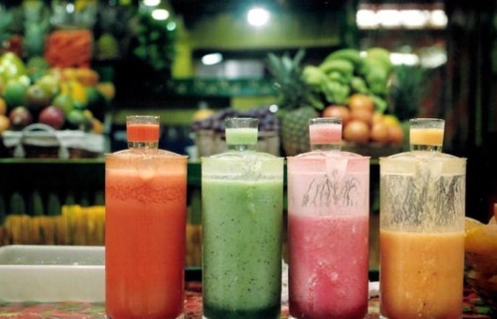 Wie wist dat smoothies zoveel goed doen? Mitch Altman Foto: Mitch Altman,  © MooiRooi