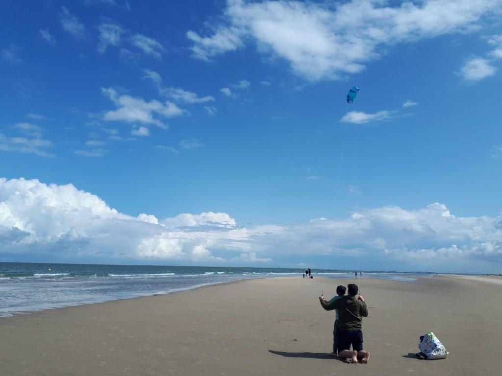 Goeie wind in Zeeland. familie van Berkel  © MooiRooi