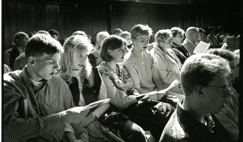 Een fotoboek voor kerkelijke insiders op hoe het ooit was