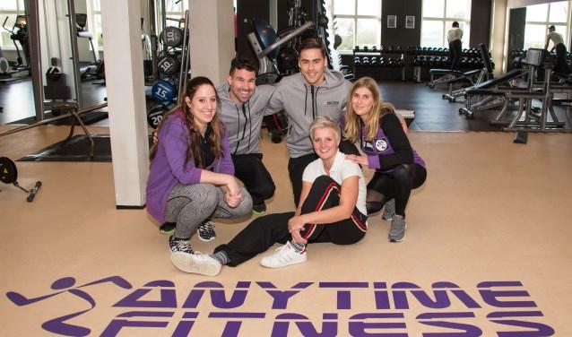 Het team van Anytime Fitness (foto: Jan Krijtenburg)