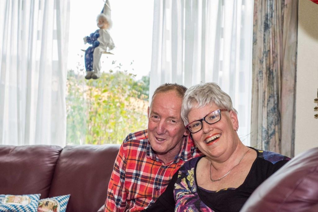 Marjon en Theo blijven optimistisch.  © Minerve Pers