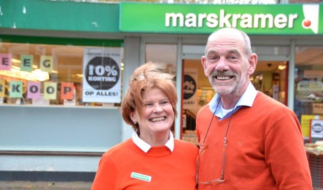 Jacqueline en Arjan Molenaar hebben hun winkelpand verkocht.