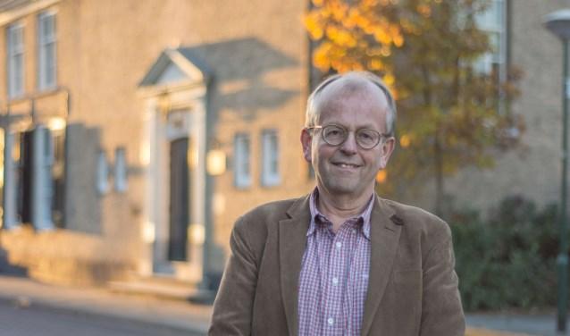 Wim Lolkema, de nieuwe dominee van de Protestantse Gemeente Woensdrecht.