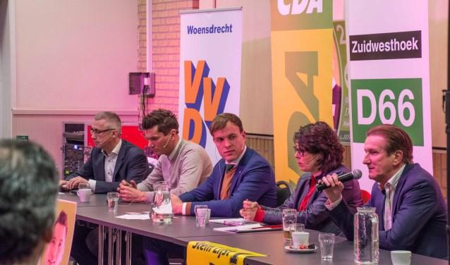 Het debat in Huijbergen verliep in harmonie.