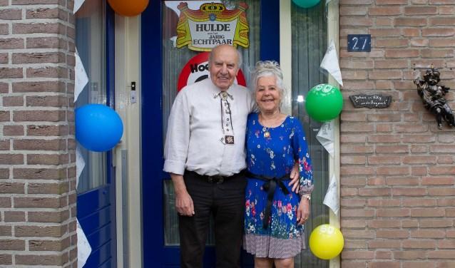 Diamanten paar Johan en Riekje van den Boogaart-Van Eerdt uit Putte.