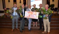 Gidsen van heemkundekring Halchterth namen afgelopen jaar de Erfgoedprijs in ontvangst en hebben nu hun initiatief uitgewerkt.