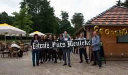 Officiële opening van Eetcafé Puts Meuleke met wethouder Hans de Waal.