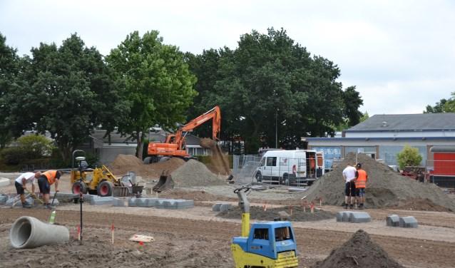 Terwijl de aanleg van de rotonde vordert zijn er plannen voor de Zuneha.