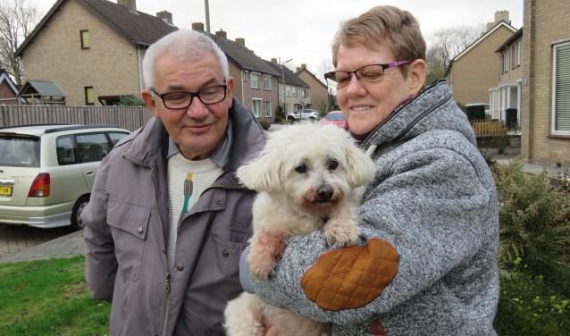 Frans en Liesbeth genieten dagelijks van Molly's aanwezigheid, die aankomend jaar al 16 levensjaren 'op de teller' heeft staan.