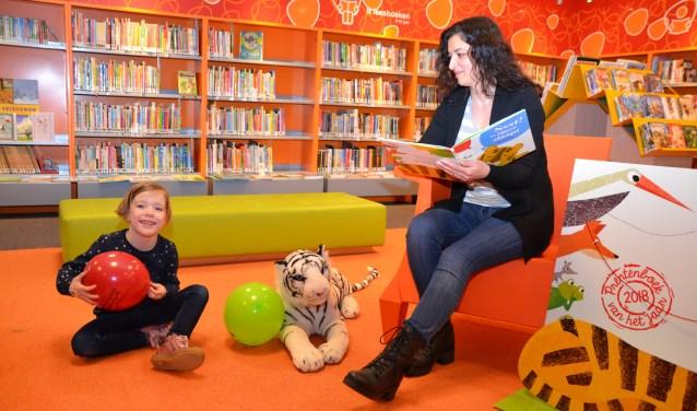 Tijdens de Nationale Voorleesagen staat voorlezen centraal in Bibliotheek Het Markiezaat (foto ter illustratie).