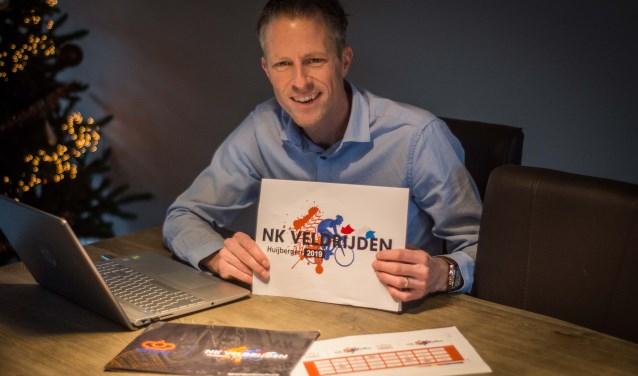 Patrick van Paradijs gaf het NK Veldrijden een topuitstraling.