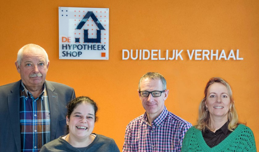 Matty Duijvelaar, Babiche van Nunen, Jack Groffen en Sandra van Uum staan voor u klaar.