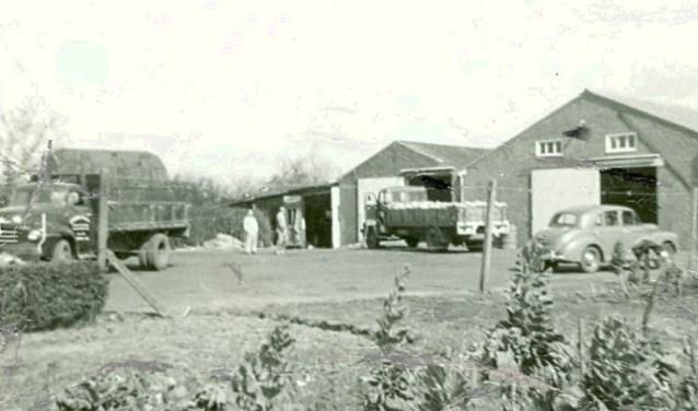 Bogers Transport & Logistics in de jaren '50 van de vorige eeuw.