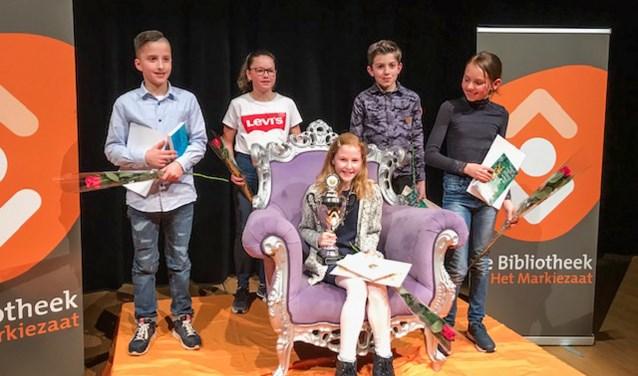 Feline is de nieuwe voorleeskampioen van Woensdrecht!