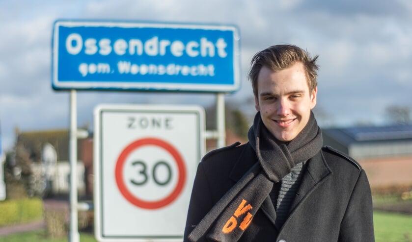 Joey Pals is bij de Waterschapsverkiezingen de jongst verkiesbare kandidaat van Brabant.
