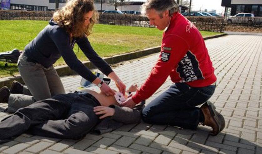 Reanimatie door burgerhulpverleners is van levensbelang.