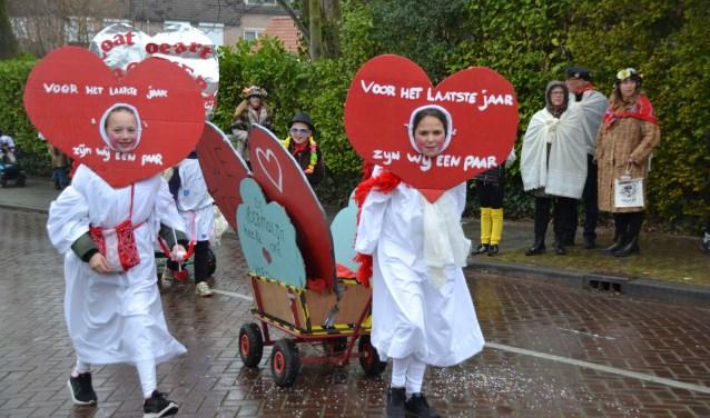 Dat het plaatselijke carnaval leeft onder de jeugd kwam tot uiting in creatieve bijdragen aan de kinderoptocht.