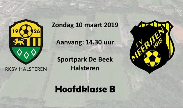 De wedstrijdtip van deze week: RKSV Halsteren tegen SV Meerssen.