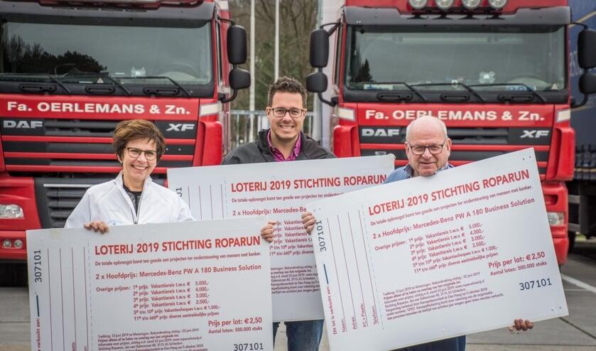 Adriënne van Thillo en Arjan en Willem Oerlemans gaan voor een recordopbrengst!