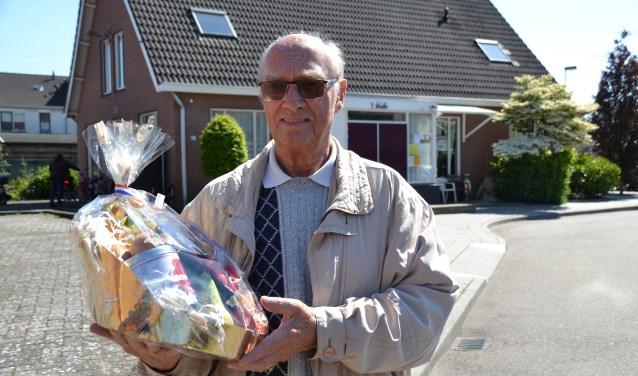 Piet de Krom won het biljarten.
