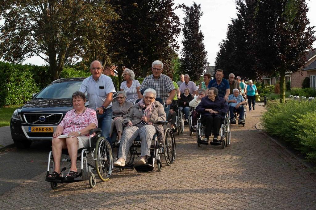 Ook voor de rolstoelers is weer een parcours uitgezet.  © Minerve Pers