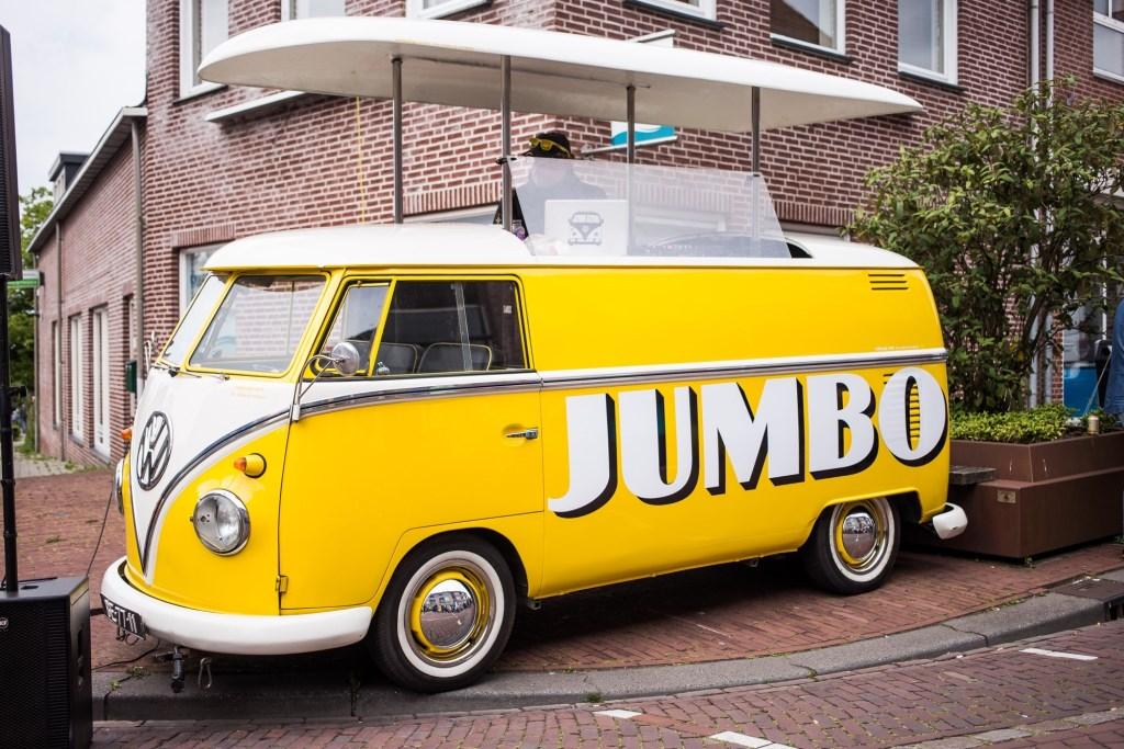 Jumbo feestbus  © Minerve Pers