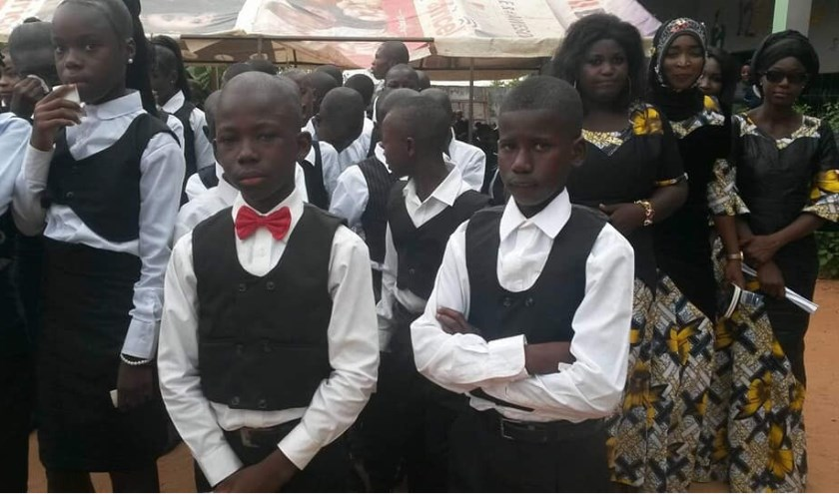 Voor 38 kinderen die KingsTom school doorliepen was het Graduation.