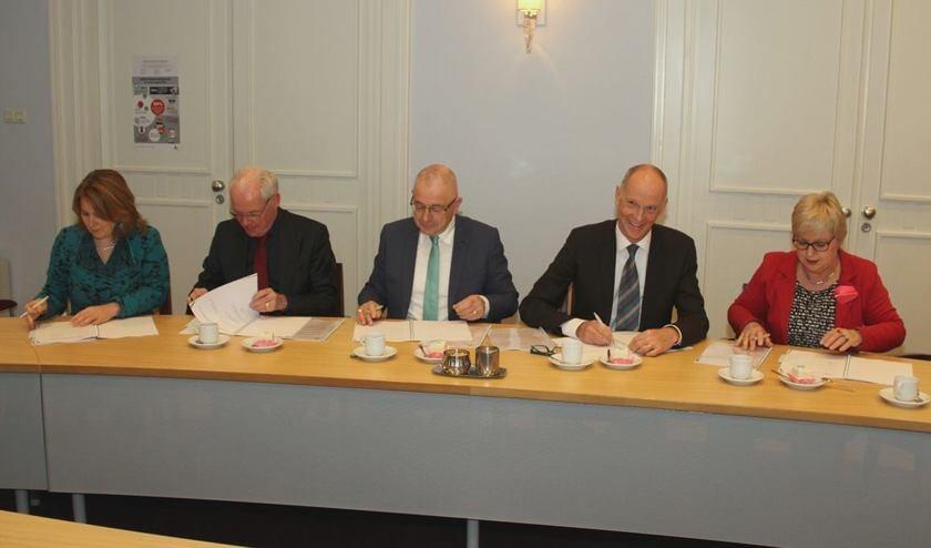 De overeenkomst werd maandagochtend in Schijndel ondertekend.