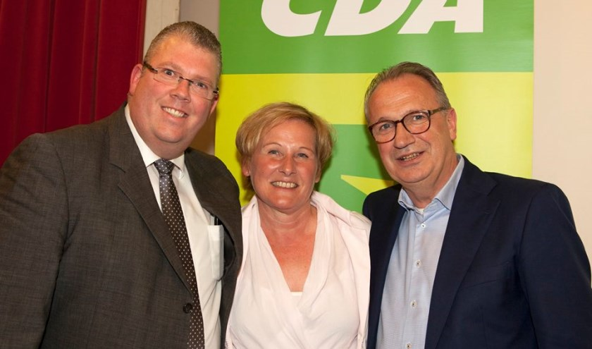 Jan Goijaarts (rechts) is de lijsttrekker van CDA Meierijstad.