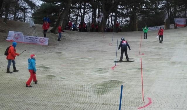 Special Olympics voor wintersporters.