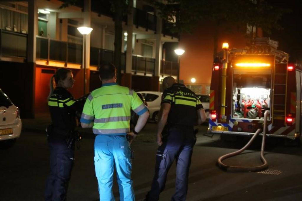 brand slaat over op flat [update + video]