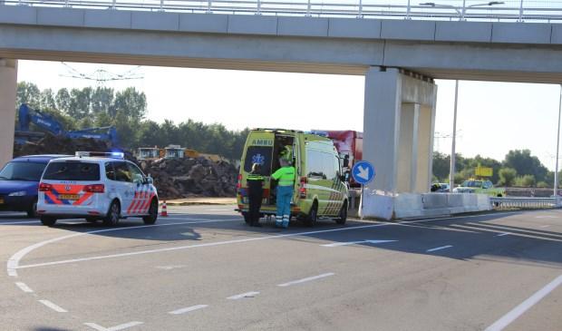 kliknieuws veghel - motorrijder gewond na schuiver op n279