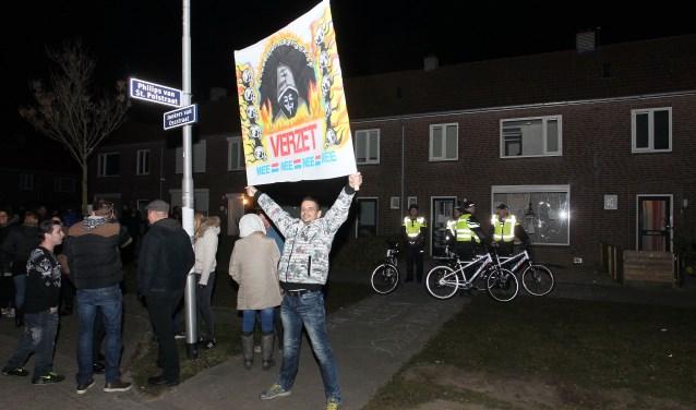 Een eerdere demonstratie in Oss. (foto: Hans van der Poel)