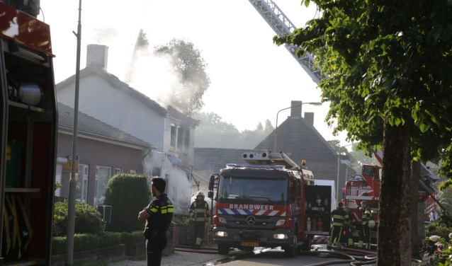De Petjesbar in Overlangel brandde in augustus af. (Foto: Maickel Keijzers / Hendriks Multimedia)
