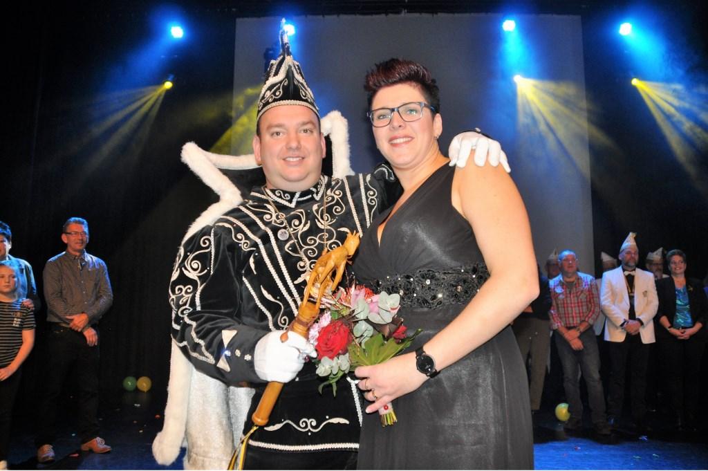 Prins Chris-Jan en prinses Jessica regeren over 't Germelaand, Mill. Foto: Cockie Kremers  © Kliknieuws De Maas Driehoek
