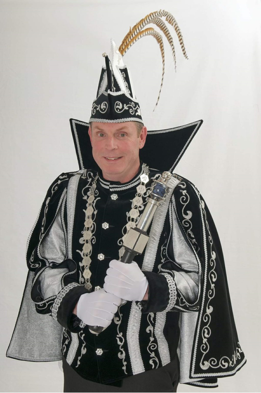 Prins Ronny d'n Urste  van de Heikneuters, Mook.   © Kliknieuws De Maas Driehoek