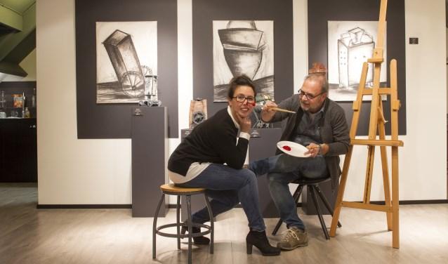 Francesca en Wim Verwegen (Foto: Ad van de Graaf).