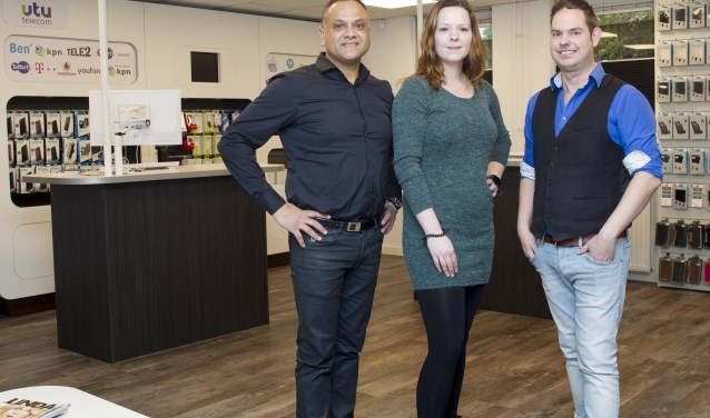 Het team van VTU Telecom (foto Ad van de Graaf).