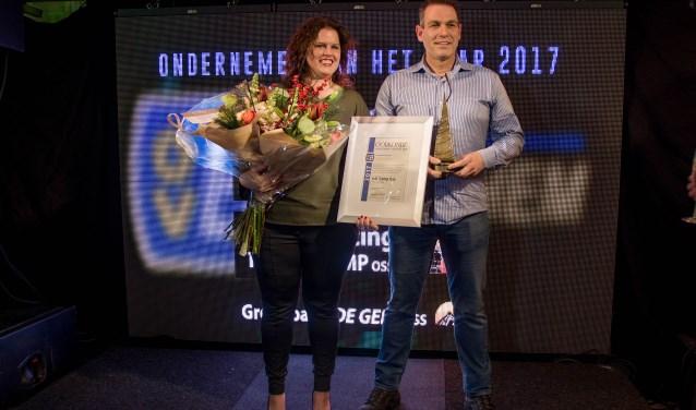 Annette en Theo van de Camp. (Foto: Edwin Brouwer)