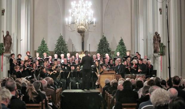 Het Boxmeerse Weijerkoor tijdens een eerder optreden.