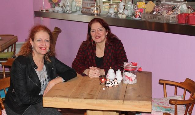 Rina en Lucie van de Leemput.