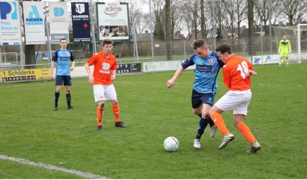 Volkel wint knap bij DAW met 1-2 (Foto's Ingrid Willems)