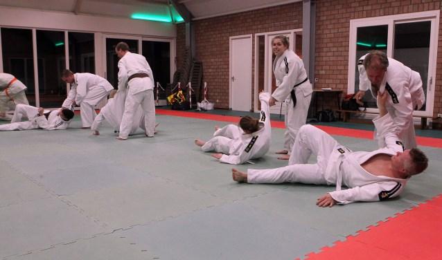 Judoka's bij Judovereniging Kaihatsu Oss. (Foto: Hans van der Poel)