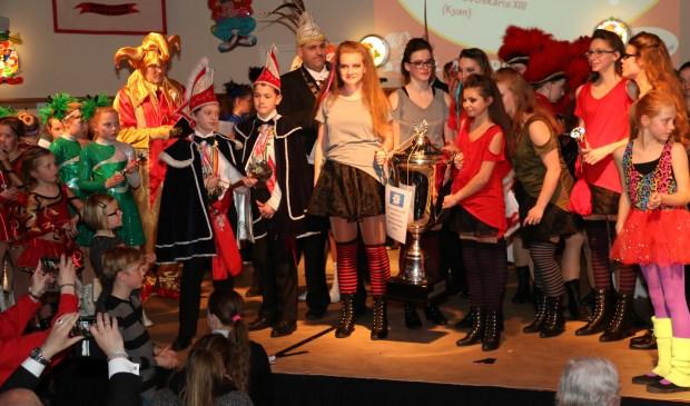 Dansgarde De Raauw Ossekar wint Dansgarde Festival