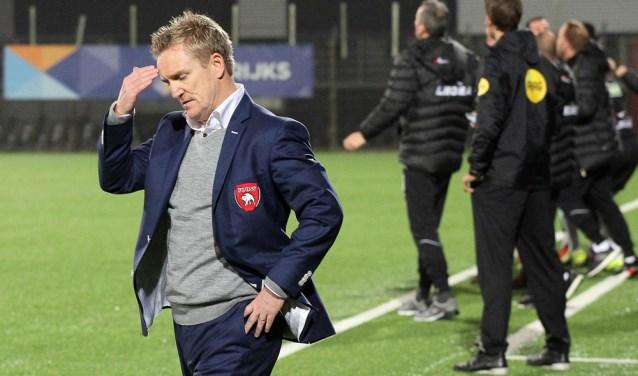 FC Oss-trainer Francois Gesthuizen. (Foto: Hans van der Poel)