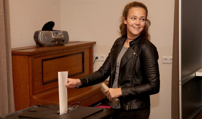 De gemeente Meierijstad onderneemt geen extra acties om de jeugd naar de stembus te trekken (Foto: Peter Kuijpers).