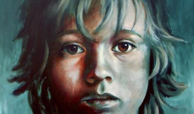 Een werk van schilderatelier Jacqueline Klein Breteler.