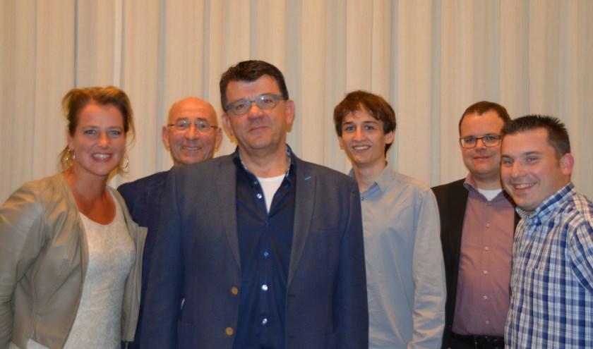 De fractie van D66.