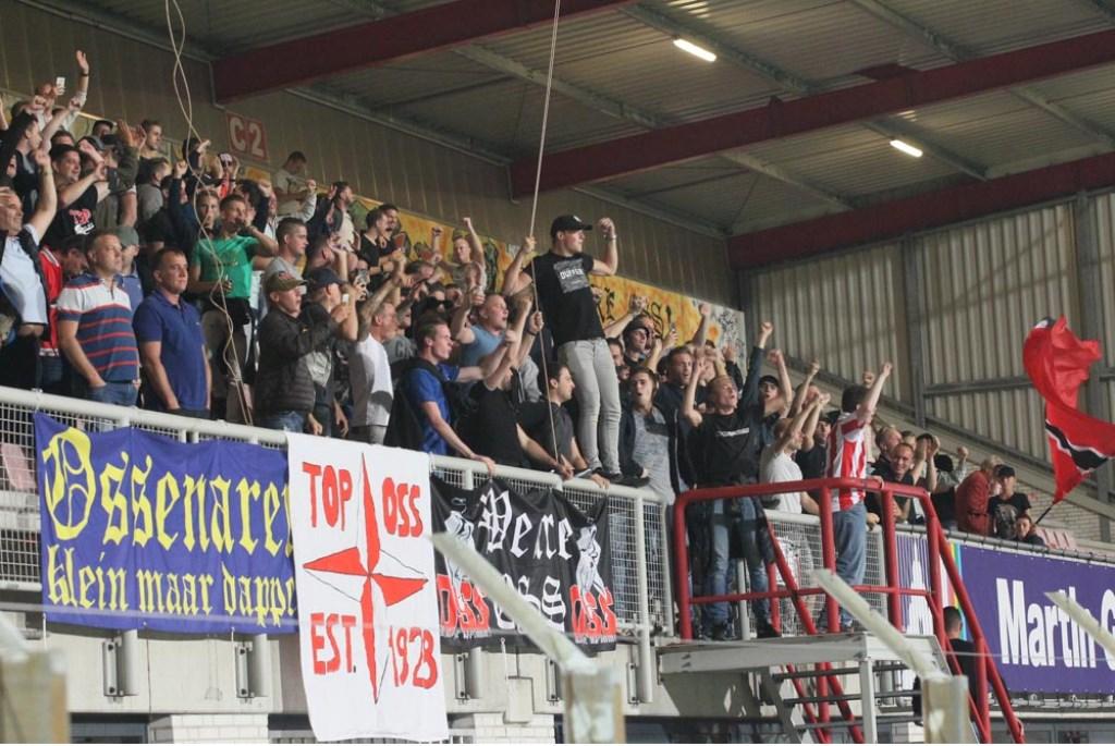 FC Oss - FC Volendam. (Foto: Hans van der Poel)