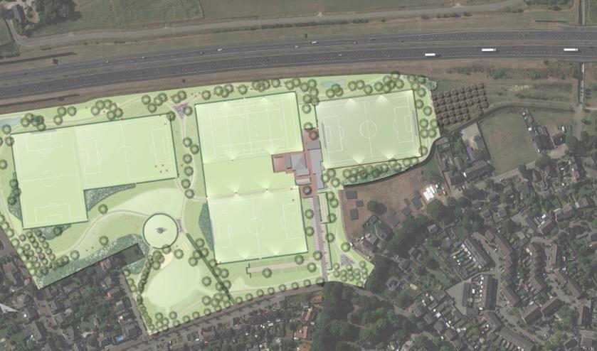 Het ontwerp voor Park Moleneind.